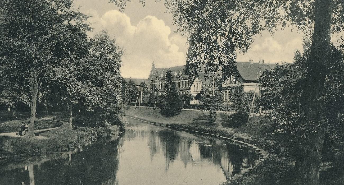 Historische Ansicht Mariengymnasium Jever