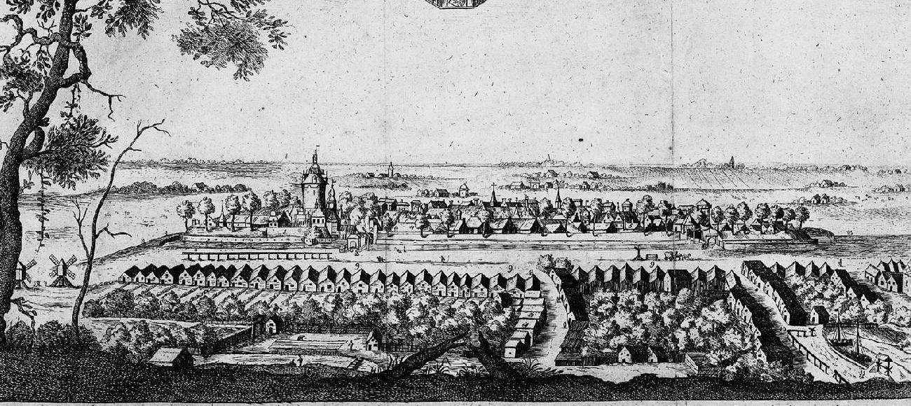 Historische Ansicht Stadt Jever